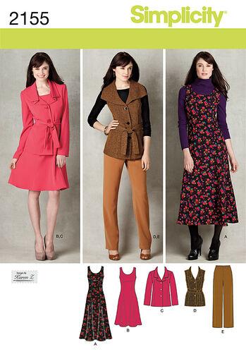Simplicity Pattern 2155 Misses' & Plus Size Sportswear