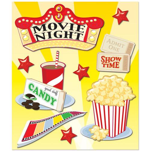 Movie Night Sticker Medley_30-586284