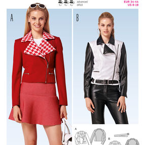 Burda Style Jackets, Coats, Vests