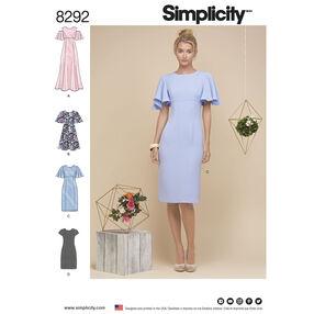 Simplicity Pattern 8292 Misses'/Miss Petite Dresses