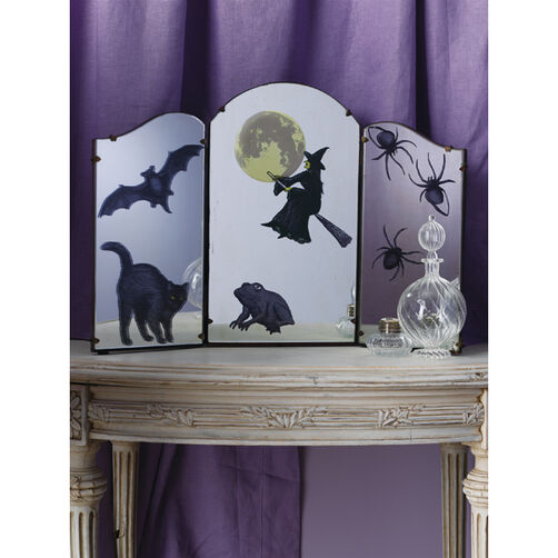 Elegant Witch Icon Mirror Clings_48-20030