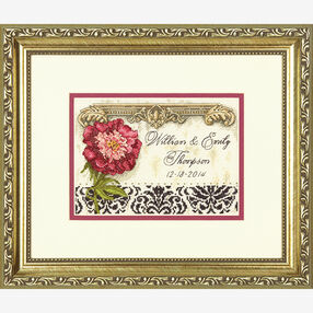 Elegant Wedding Record in Counted Cross Stitch_70-65138