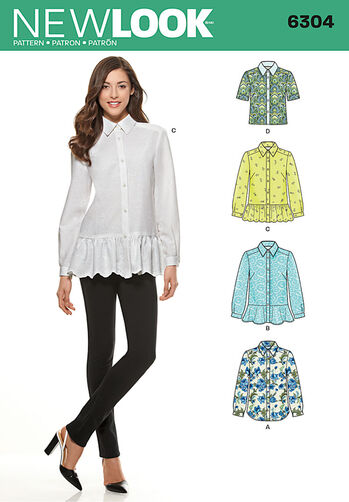 Misses' Shirt with Length Variations