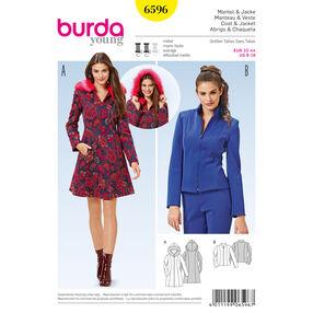 Burda Style Pattern 6596 Coat and Jacket