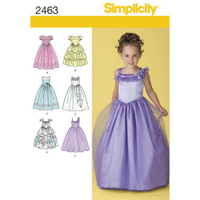 Simplicity Pattern 2463 Child's Special Occasion Dress