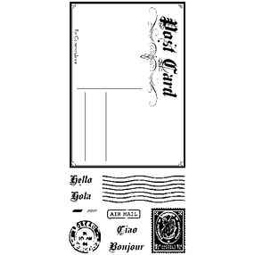 Post Card Clear Stamps_60-31213