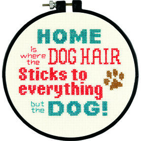 Pet Hair in Counted Cross Stitch_72-74122