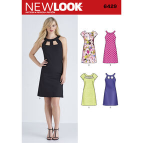 New Look Pattern 6429 Misses' Dresses