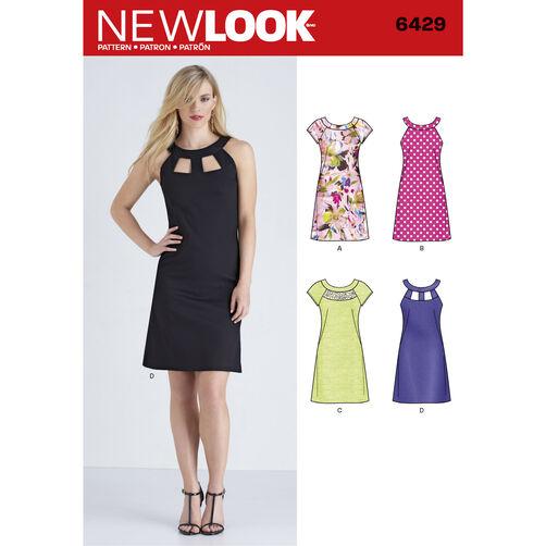 New Look Pattern 6429 Misses' Dresses
