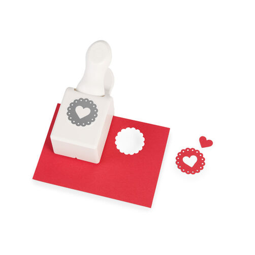 Heart Seal Medium Double Punch _42-25044