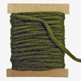 Green Wool Pencil Roving, Needle Felting_72-74006