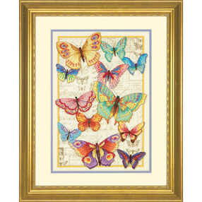 Butterfly Beauty, Counted Cross Stitch_70-35338