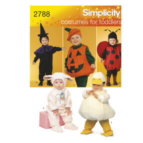 Simplicity Pattern 2788 Toddler Costumes