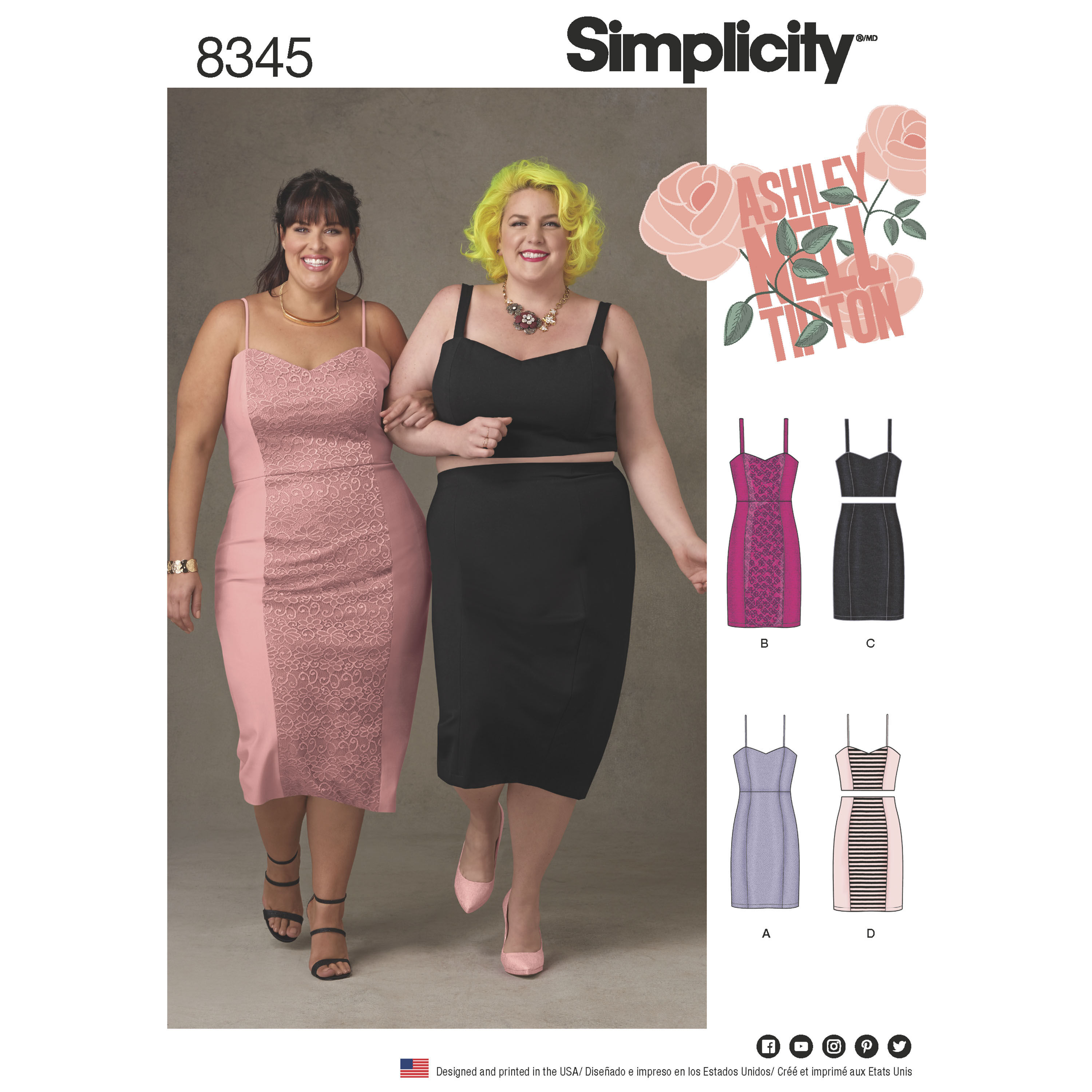 Cheap dress patterns in plus