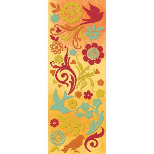 Brenda Walton Mira Glitter Birds & Flowers Die-Cut Stickers_567139