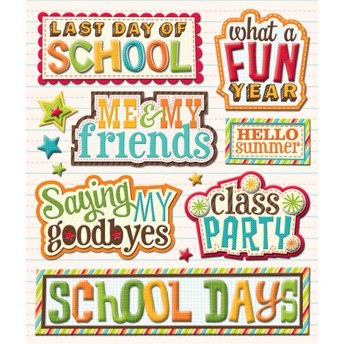 Last Day of School Sticker Medley_30-586703