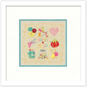 Handmade Sampler in Embroidery_72-74053