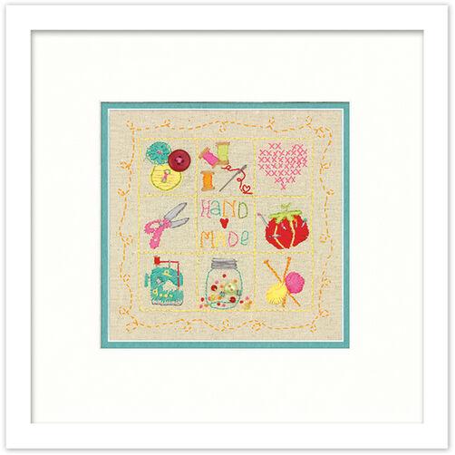 Handmade Sampler in Embroidery_72-74053