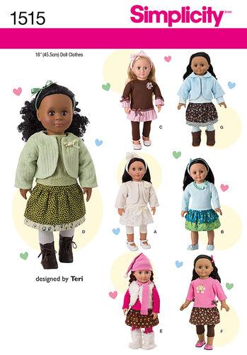 "18"" Doll Wardrobe"