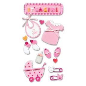 Foam Baby Girl Stickers_SPJH007