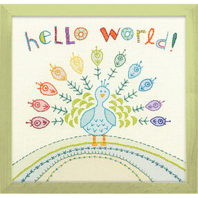 Hello World, Embroidery_71-01548