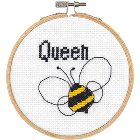 Queen Bee, Counted Cross Stitch_72-74844
