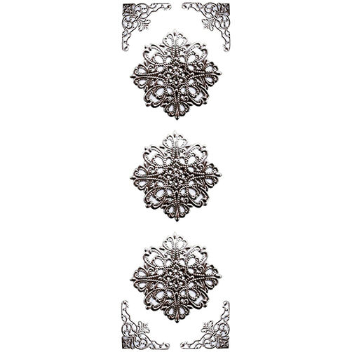 Elegant Filigree Ornate Shape Stickers_41-05025