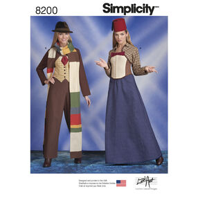 Pattern 8200 Misses' Costumes
