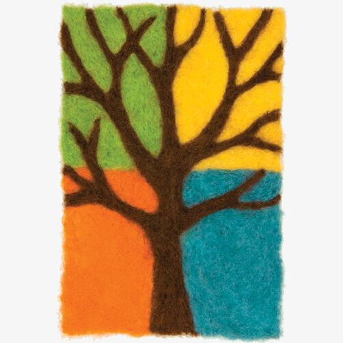 Tree Needle Felting Art_72-73897