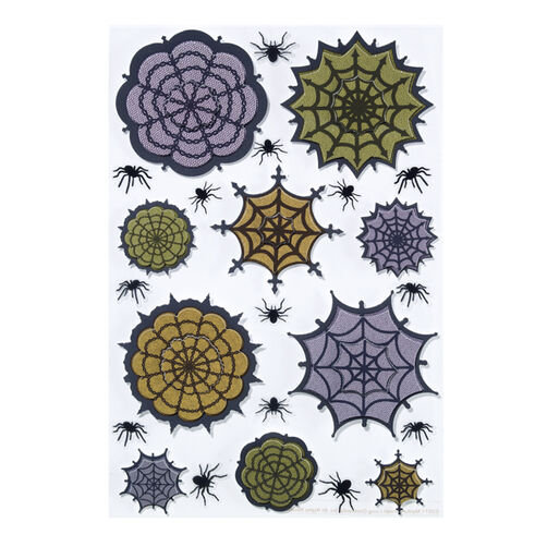 Lace Spider web Stickers_48-20184
