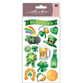 St. Patrick's Day Stickers_52-00609