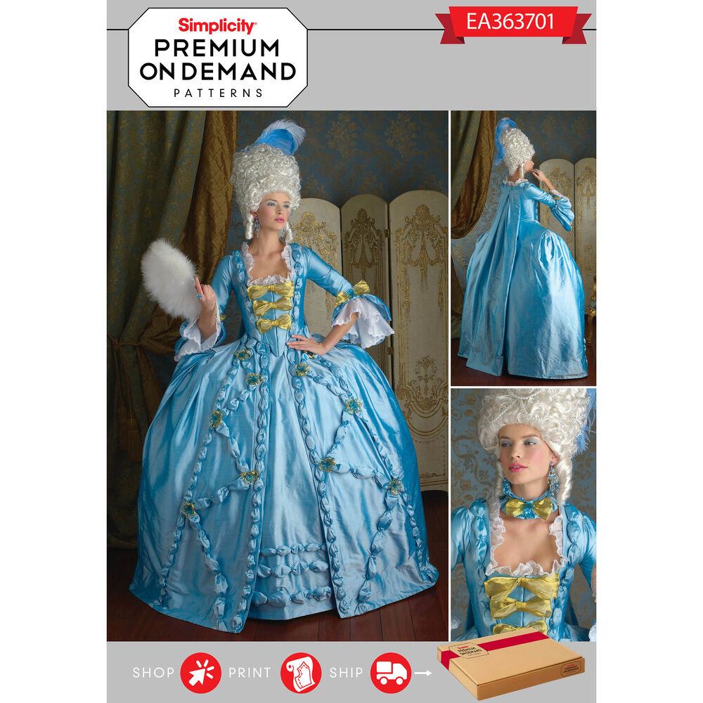 Ea363701 premium print on demand costume pattern for Premium on demand