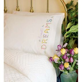Dreams Pillow Cases, Embroidery_73189