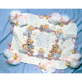 Nighttime Prayer Quilt, Stamped Cross Stitch_03194