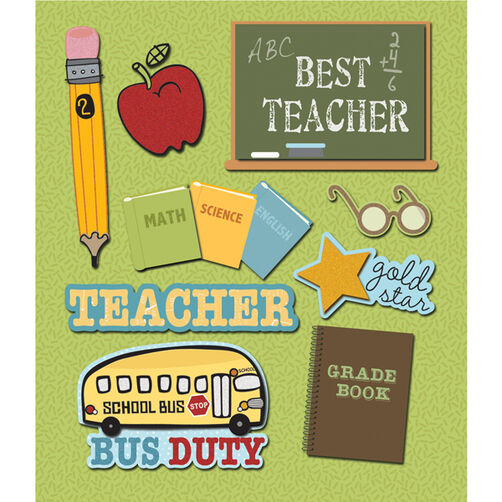 Teacher Sticker Medley_30-588387