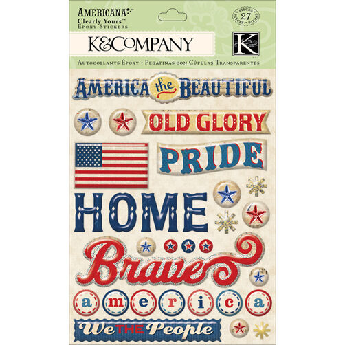 Americana Word Clearly Yours_30-614246