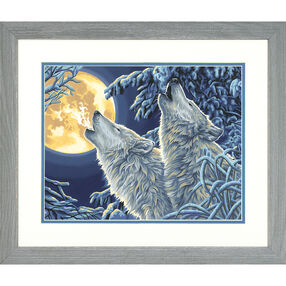 Moonlight Wolves, Paint by Number_73-91670
