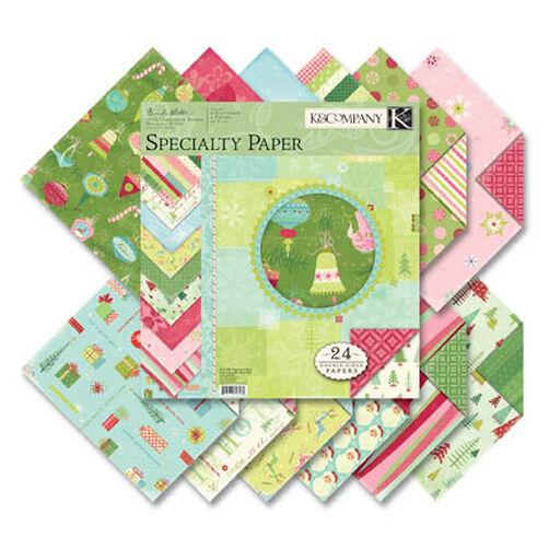 Brenda Walton Peppermint Twist 12x12 Specialty Paper Pad_626461