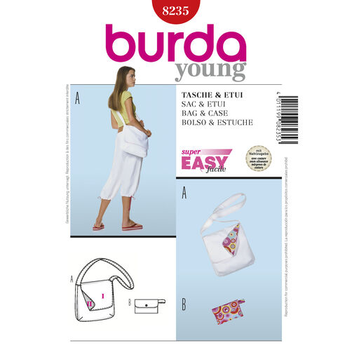 Burda Style Pattern 8235 Bag & Case