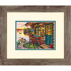 Cabin View, Counted Cross Stitch_70-65161