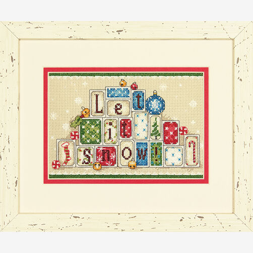 Let It Snow in Counted Cross Stitch_70-08920