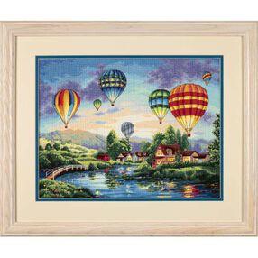 Balloon Glow, Counted Cross Stitch_35213