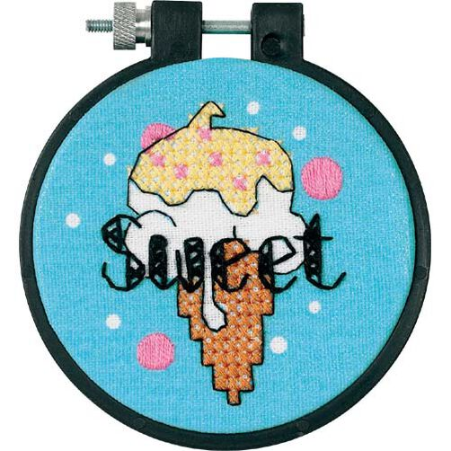 Sweet Ice Cream, Stamped Cross Stitch_73267
