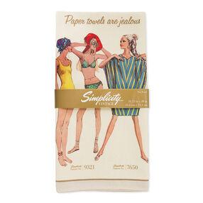 Simplicity Vintage Jealous Tea Towel