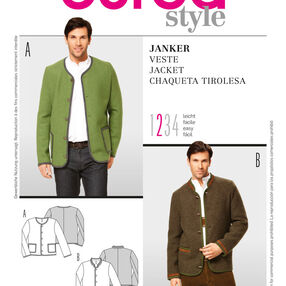 Burda Style Pattern 7291 Jacket