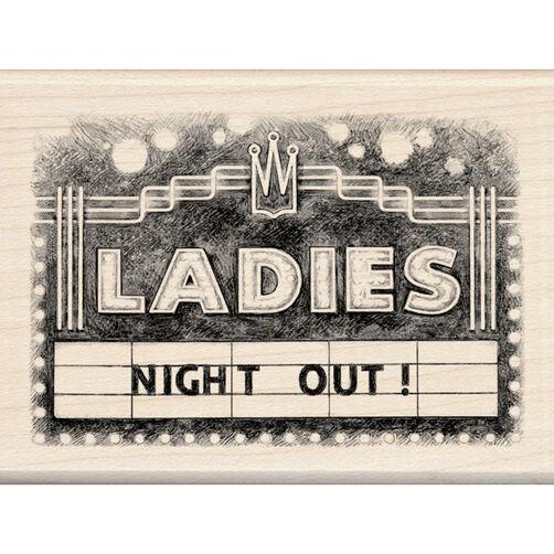 Ladies Marquee Wood Stamp_60-00877