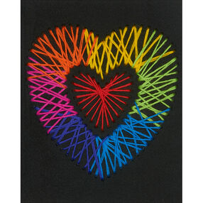 Heart Yarn Art, Embroidery_72-74203