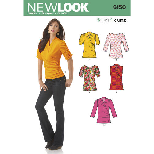 New Look Pattern 6150 Misses' Knit Top