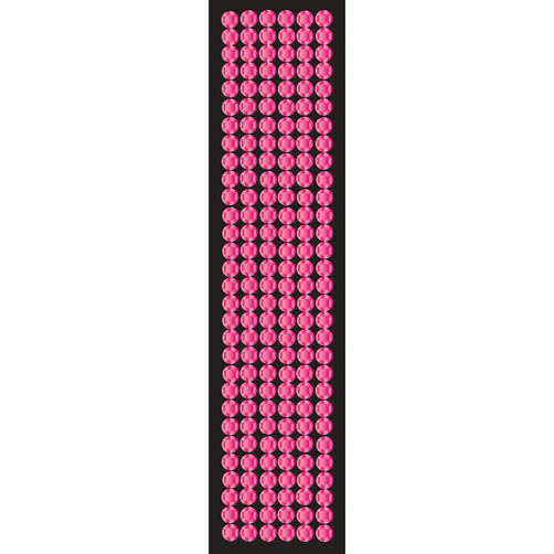 Pink Thick Border Stickers_50-00134