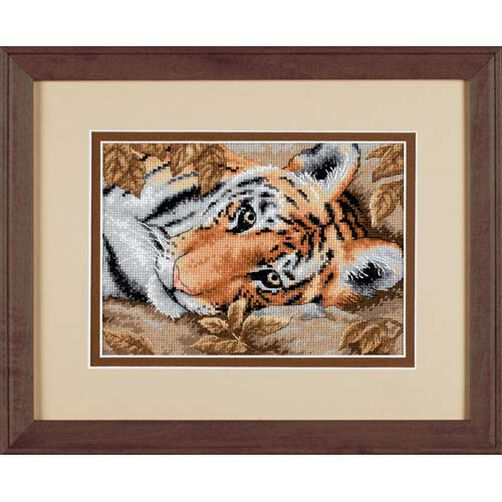 Beguiling Tiger, Counted Cross Stitch_65056